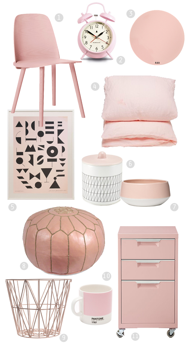 Blush Pink Home Decor Brooklyn Housefly